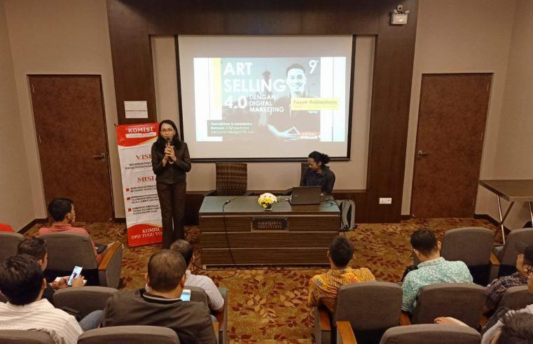 Antisipasi Dampak Virus Corona, Komunitas Sales Indonesia Gelar Seminar Art Selling 4.0