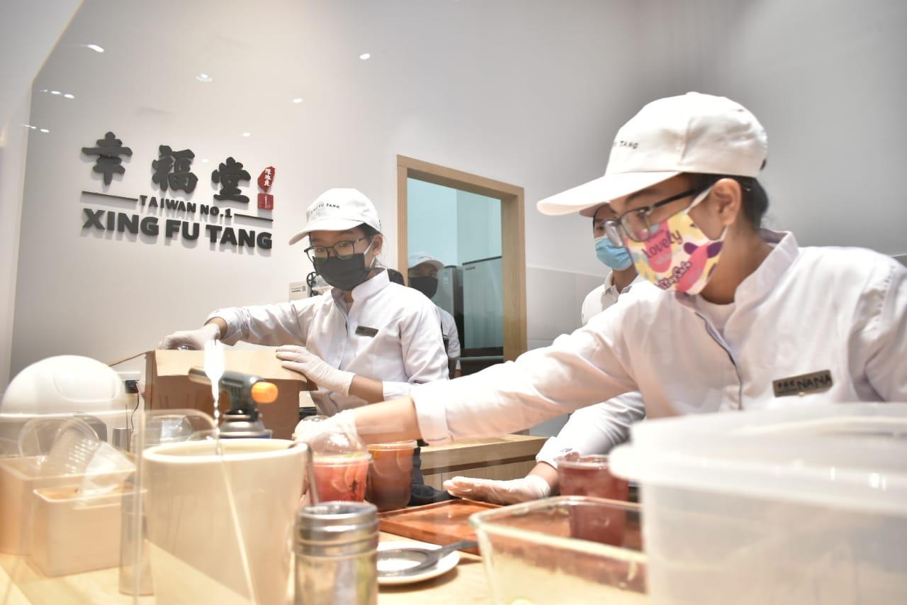 Gerai Minuman Boba Asal Taiwan Xing Fu Tang Kini Hadir di Hartono Mall Yogyakarta
