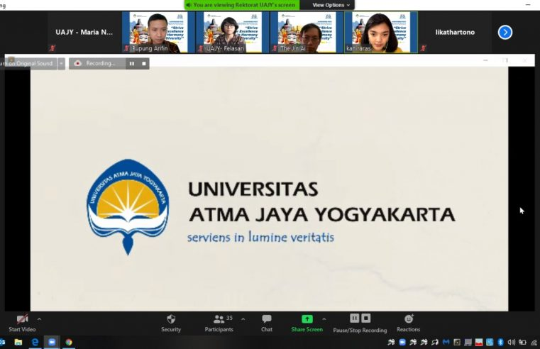 Perkuat Identitas, Universitas Atma Jaya Yogyakarta Transformasi Logo, Himne, dan Mars
