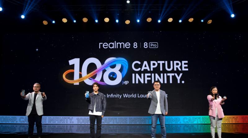 Jawab Kebutuhan Anak Muda, Realme 8 & Realme 8 Pro Sematkan Kamera 108MP dengan Desain Stylish